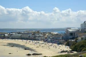view of Porthmeor beach