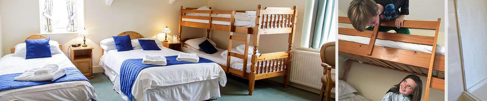 Family Rooms at Porth Veor Manor