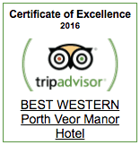 porth veor manor certificate of excellence