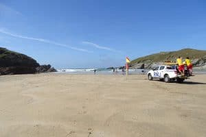 lifeguards at Porth