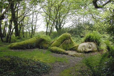 Mudmaid at the Lost Gardens of Heligan