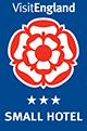 VisitEngland - small hotel - 3 star award logo