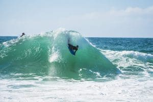 bodyboarding with Newquay Activity Centre